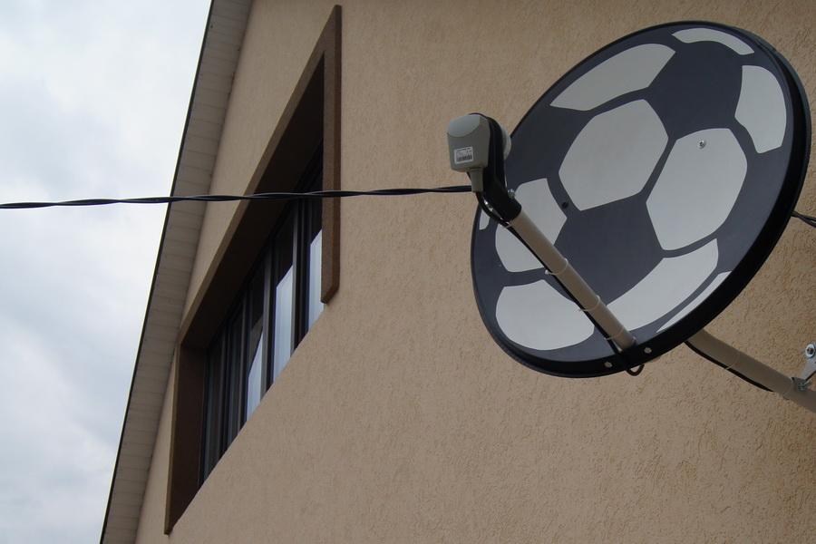 Антенна для настоящих фанатов футбола