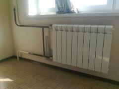 Газосварка. Замена батарей, радиаторов отопления, труб на газосварке.