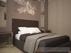 Дизайн квартиры в стиле Арт Деко ЖК Тайм S-78 м²